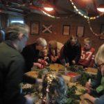 Julehygge med forældre og bedsteforældre