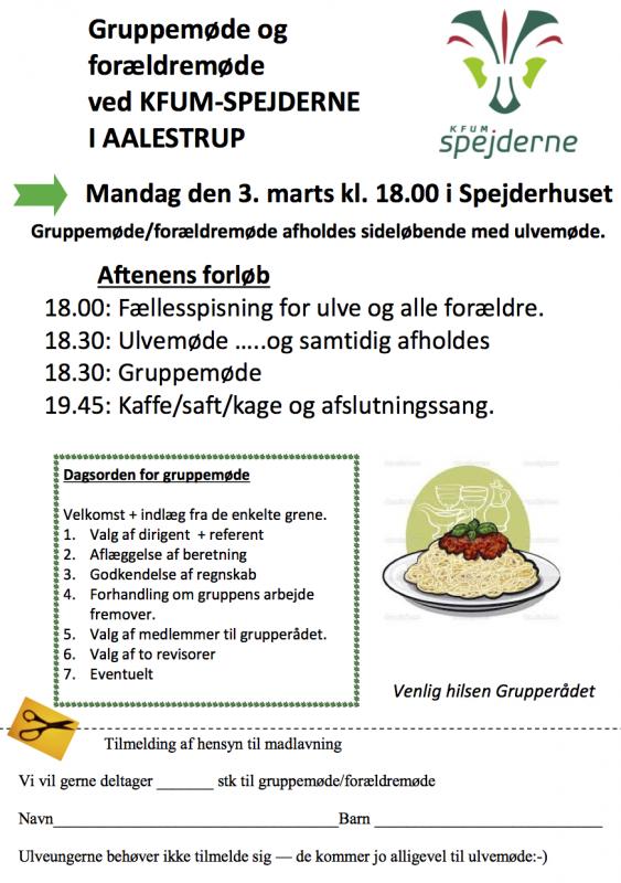 generalforsamling 2014 - fællesspisning