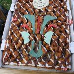 Spejderlogo-kage